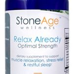 Relax Already – Natural Muscle Relaxer – Natural Stress Aid – 60 Capsules