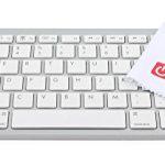 Lightweight & Ultra-Portable Wireless Bluetooth Keyboard for the Blackview Smartphones: Acme, Alife P1 Pro, Arrow, Breeze, DM550, Heatwave, Omega, Ultram C3 & Zeta – by DURAGADGET