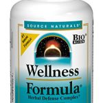 Source Naturals Wellness Formula Bio-Aligned Vitamin Herbal Defense Complex Immune System Support & Immunity Booster Wholefood Multivitamin – 240 Capsules