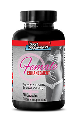 Female Libido Supplement - Natural Female Enhancement Supplement - Female Sexual Support Formula with Horny Goat Weed 1000 Mg to Increase Mood and Desire (1 Bottle 60 Capsules)
