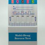 5 Panel Drug Test Kit (COC, AMP, THC, OPI, PCP) Dip Card