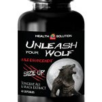 Men enhancement pills sex – UNLEASH YOUR WOLF – MALE ENHANCEMENT – SIZE UP – Tongkat ali complex – 1 Bottle 60 Capsules