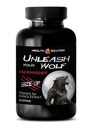 Men enhancement pills sex - UNLEASH YOUR WOLF - MALE ENHANCEMENT - SIZE UP - Tongkat ali complex - 1 Bottle 60 Capsules