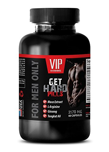 male enchantment pills erection - GET HARD PILLS 2170Mg - FOR MEN ONLY - maca and ginseng - 1 Bottle (60 Capsules)