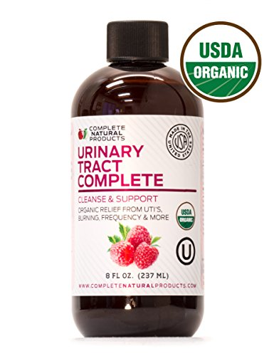 Urinary Tract Complete 8oz - Organic Liquid Bladder, UTI, UTI Prevention, Yeast, & Candida Infection Treatment