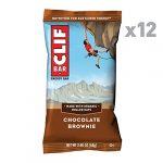 CLIF BAR – Energy Bar – Chocolate Brownie – 2.4 Ounce Protein Bar, 12 Count