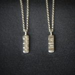 Xanax Chain Pendant Necklace Handmade Sterling Silver 3D Made From Actual Xanax Pill 16inches 18inches 20inches
