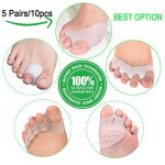 Bunion Corrector,Bunion Splint,Gel Bunion Pads for Foot Health Care,Toe Separators Spacers Straighteners-Relief Pain in Hallux Vagus,Big Toe,Tailors Bunion.Big Toe Joint.