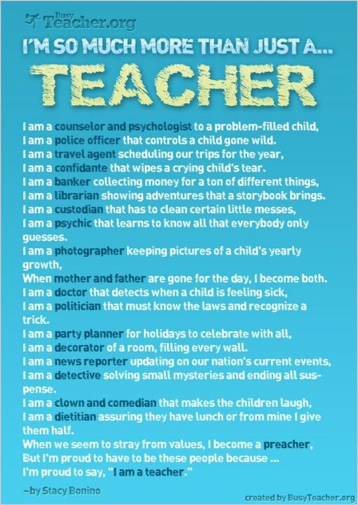 More than just a teacher