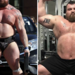 PIC: World's Strongest Man champion shows off new look after 5-stone weight loss