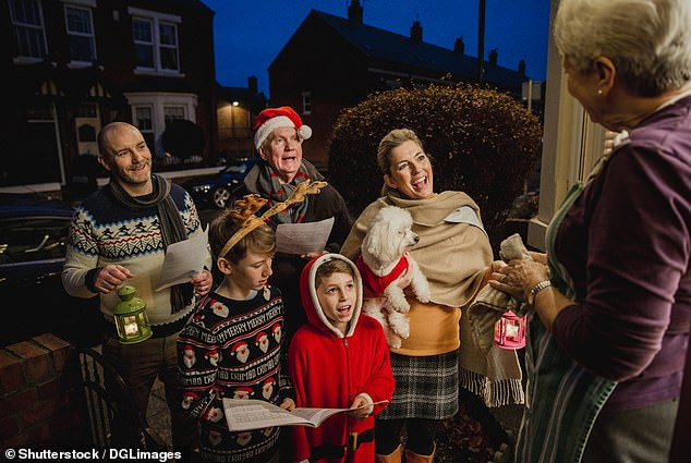 Singing carols can increase your lung capacity and strengthen muscles to give you more controlled breathing, according to the British Lung Foundation