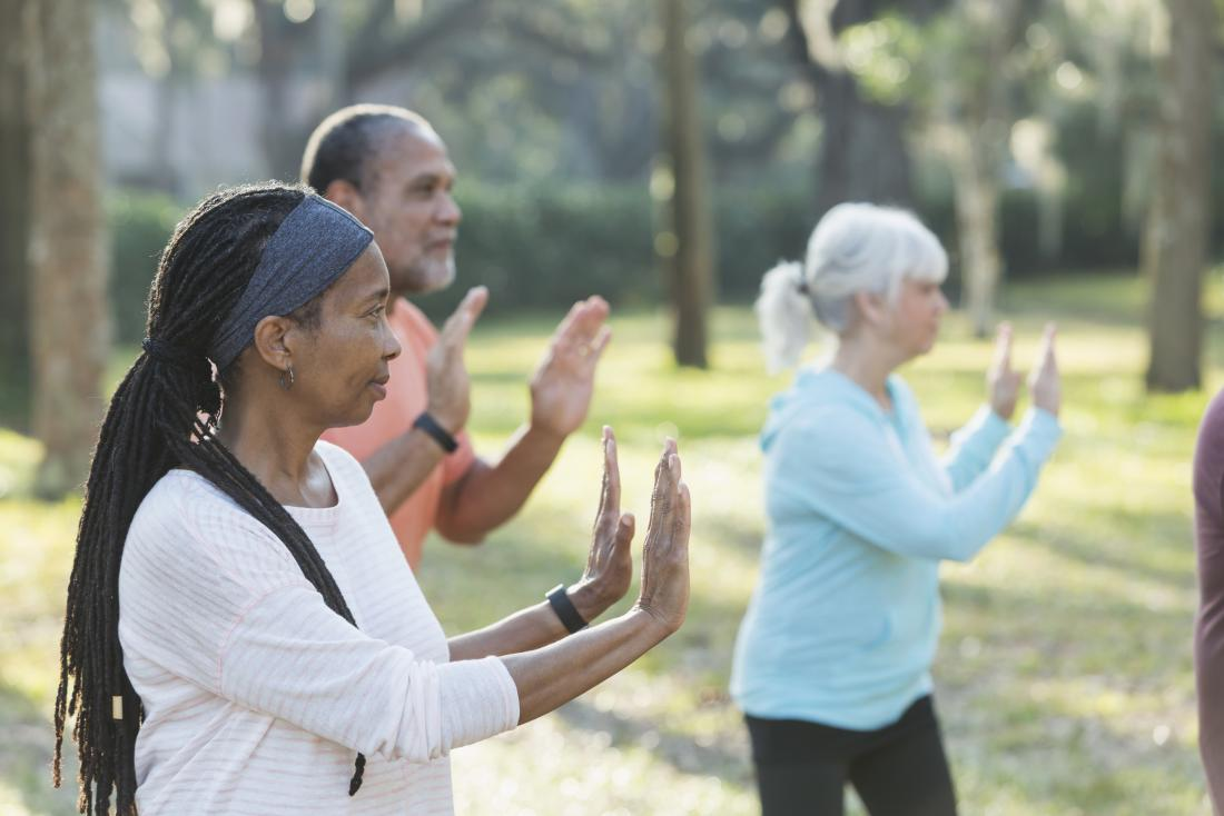 Tai chi and meditation can help treat chronic pain.