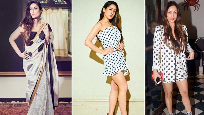 Sara Ali Khan, Kareena Kapoor Khan and Malaika Arora are Obsessed With Polka Dots and You Should Be Too!