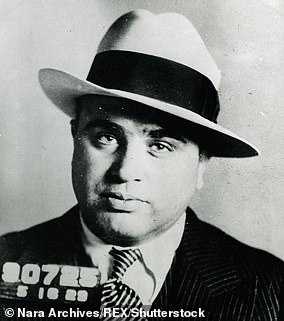 Al Capone, a mob boss in Chicago in the early 1900s, had untreated syphilis which spread and damaged his brain
