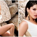 Sunny Leone Looks HOT as She Wears a White and Gold Monokini For Dabboo Ratnani's Glamorous Photoshoot (View Pic)
