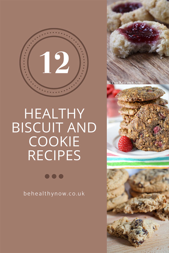 healthy biscuits and cookies