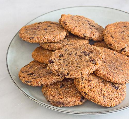healthy cookies from Deliciously Ella