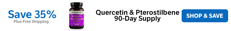 ​​Save 35% on a Quercetin & Pterostilbene ​90-Day Supply