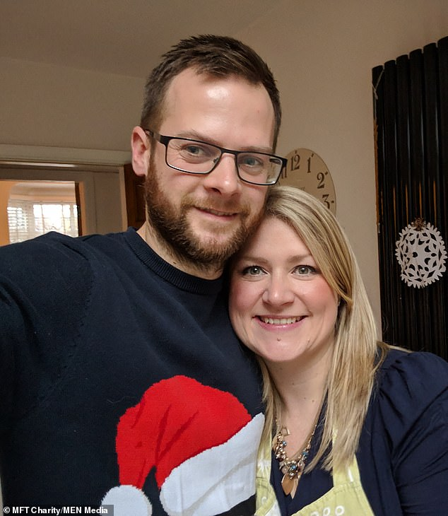 Mr and Mrs Molloy met in 2009. It has been a difficult time for the family, with June marking James' third birthday - and also what should have been the couple's fifth wedding anniversary
