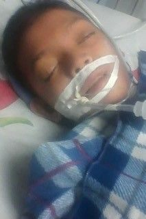 Eric, age 7, was suffering from Leukemia and passed away a few weeks ago.